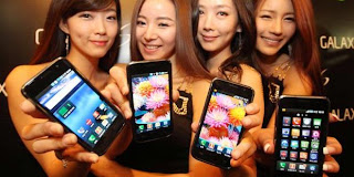 sales promotion girl samsung galaxy s