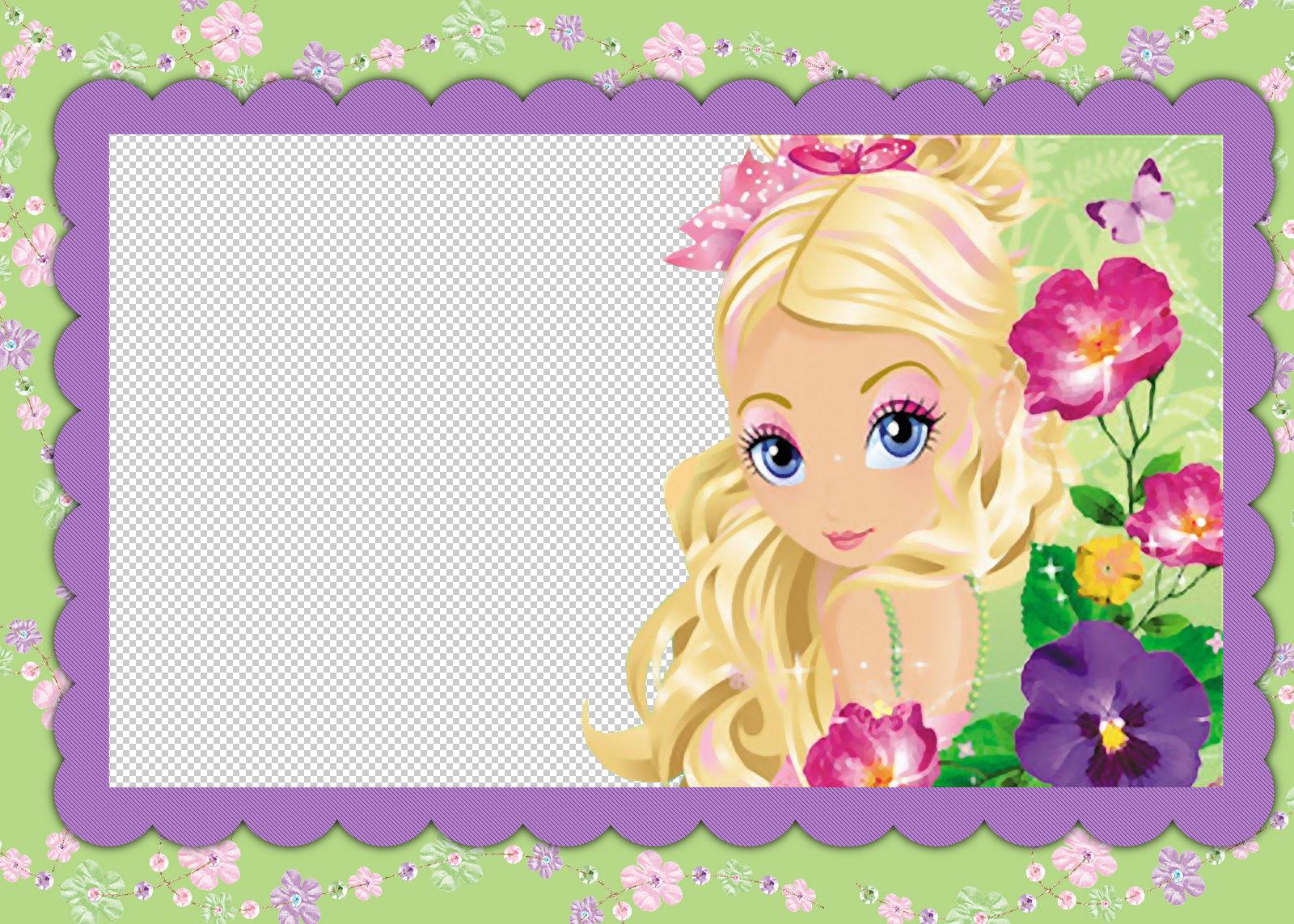 Marcos de Barbie para Foto **