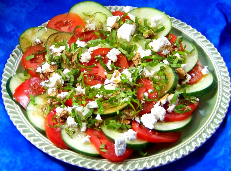 Caprese Salad: Lightened and Reinvented