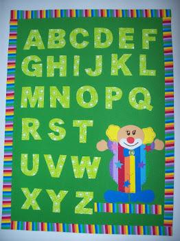 Mini Painel Alfabeto