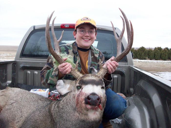 Mason's First Buck