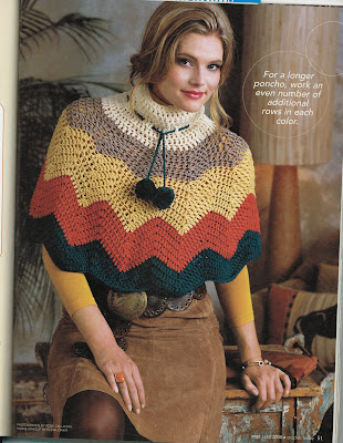 Crocheted Poncho Patterns, Shawl Patterns, Scarves, Leis