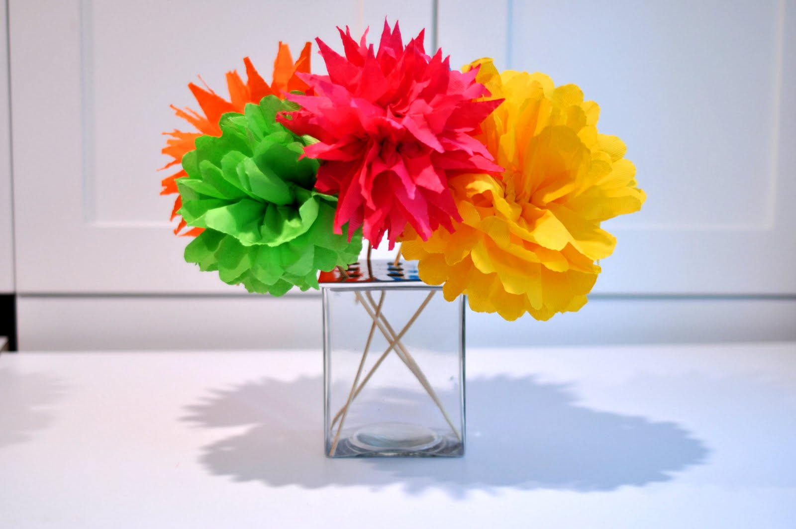 How to Make a Paper Flower Bouquet: 6 steps (with pictures)