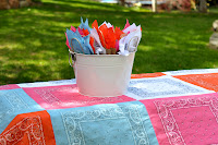 Tutorial: Bandana Quilt Tablecloth