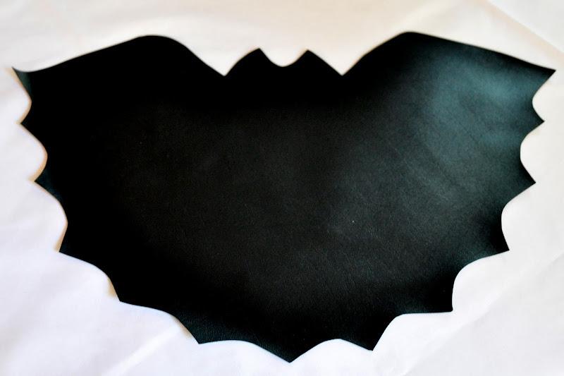 Eco idee per halloween - Contorno immagine di pipistrello ...