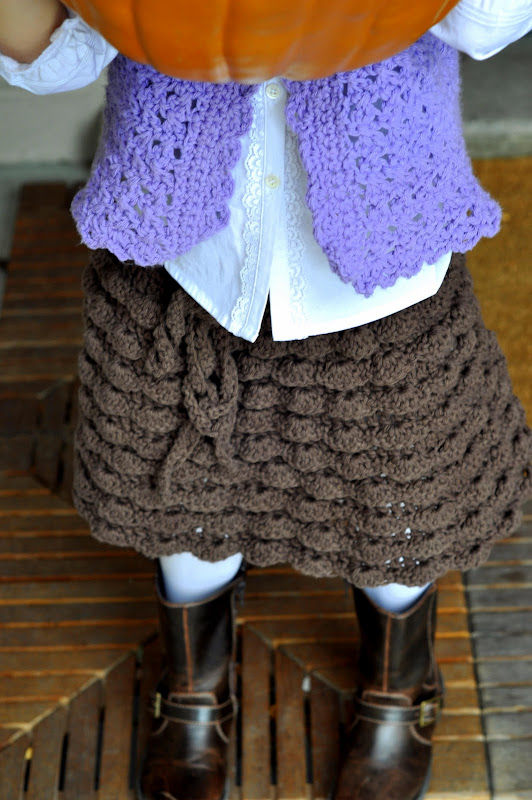 Aesthetic Nest: Crochet: Ruffled Skirt