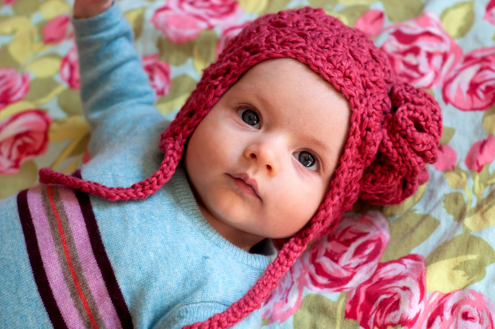 Crochet Earflap Hat : Aesthetic Nest: Crochet: Earflap Hat for Tess