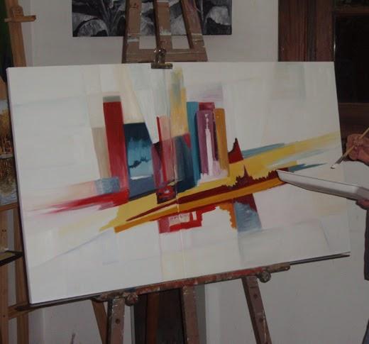 Venta de cuadros al oleo modernos y abstractos cuadros for Comprar cuadros al oleo