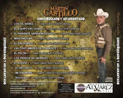 Martin Castillo - Empecherado y Adiamantado CD Album 2010