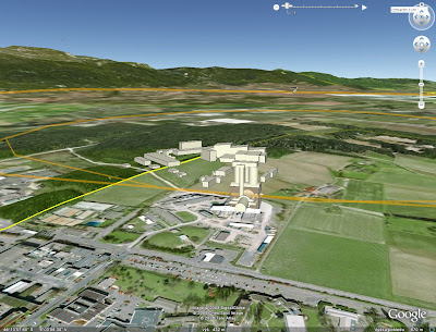 LHC Google Earth