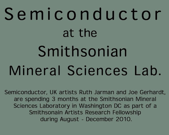 Semiconductor at the Smithsonian Mineral Sciences Laboratory