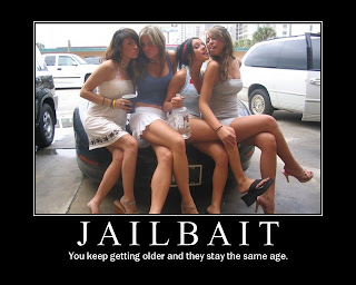 Sexy girl jail bait posters