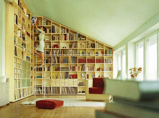 FullWall Bookshelves 530 x 395
