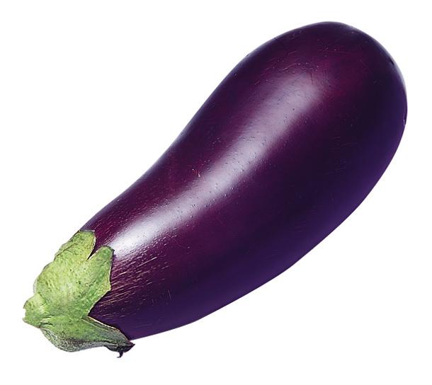 Boxed aubergines