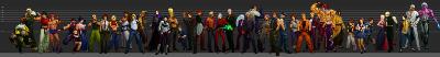 Personajes de KOF XI