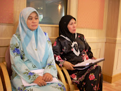Hjh Nur Hafizah and Lina, dedicated Ladies