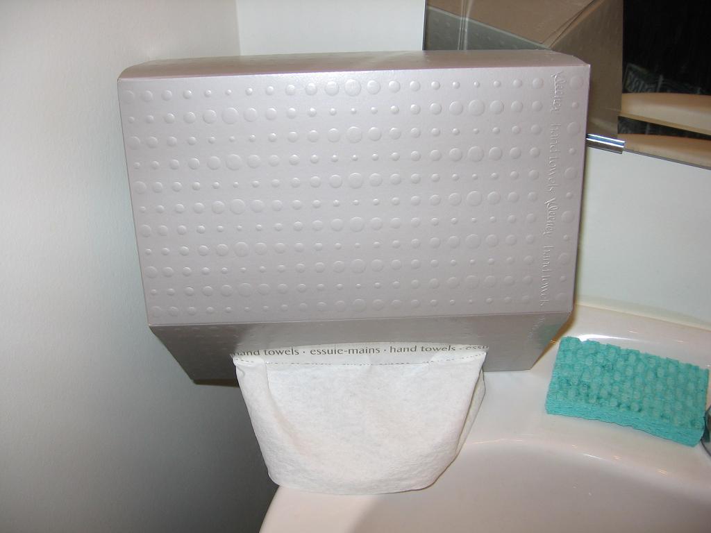 Fongpay 39 s universe january 2011 for Home bathroom towel dispenser