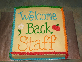 Image result for welcome back cake