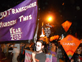 Marching in the All Souls Procession