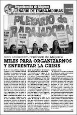Salió el Boletín del Plenario de Trabajadoras