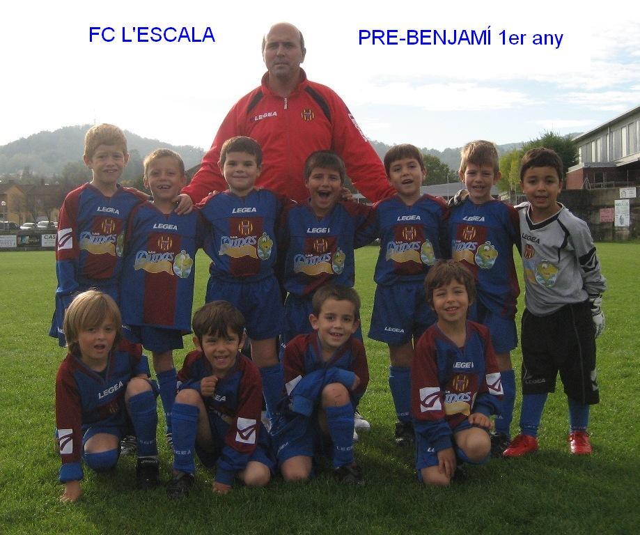 FC L'ESCALA 2003: Prebenjamí 1er any (Temp. 2009-2010)