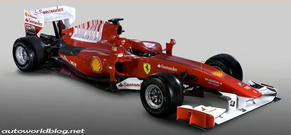 2010 Ferrari F1 The F10