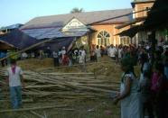 Church Building Collapsed
