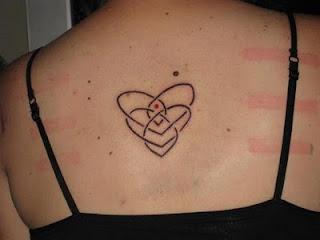 Mother Son Symbol Tattoo Designs