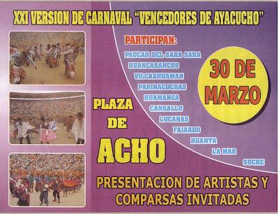 FEDIPA: Carnaval Vencedores de Ayacucho 2008