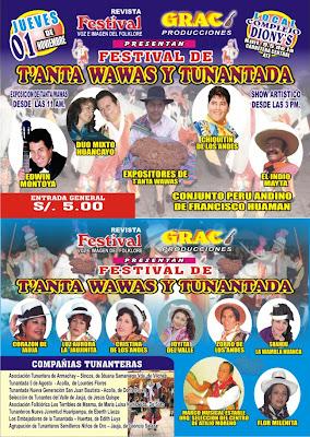 Afiche promocional del Festival
