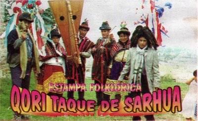 QORI TAQE DE SARHUA, EN TRABAJO RECOPILATORIO DE LA NAVIDAD SARHUINA