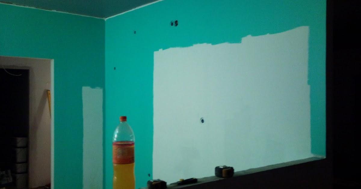 Omakotitaloprojekti Keittiön seinä, osa 1