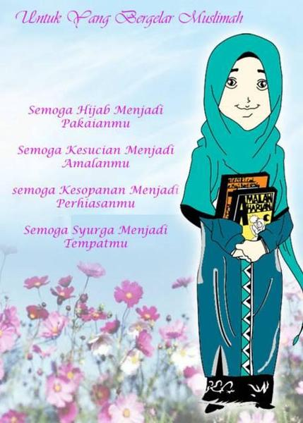 wallpaper muslimah sejati. wallpaper muslimah cartoon. Muslimah+cartoon+cute