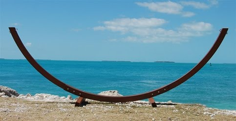 hammock barbados natural full stands solid fabric view stand image the teak and