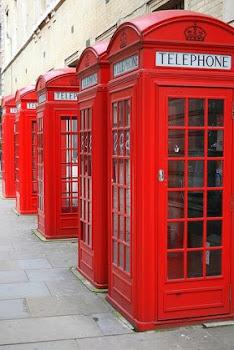 Englando/cabines telefonicas da englaterra