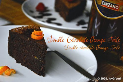 ... Chocolate Extravaganza of Double Chocolate–Orange Torte and