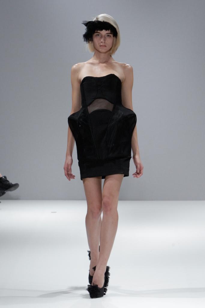 The fashion scout vfs merit award aw11 winner georgia hardinge - Inter charlet ...