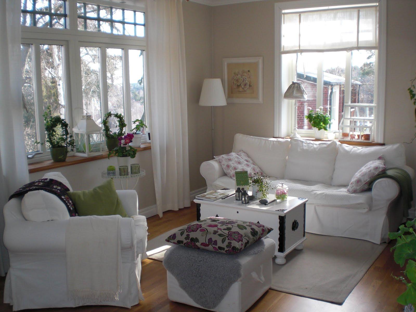 Hemmahosjessica: våra vita möbler å ett flott hus