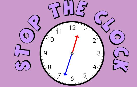 Homeschool Parent: Stop The Clock Telling Time Game