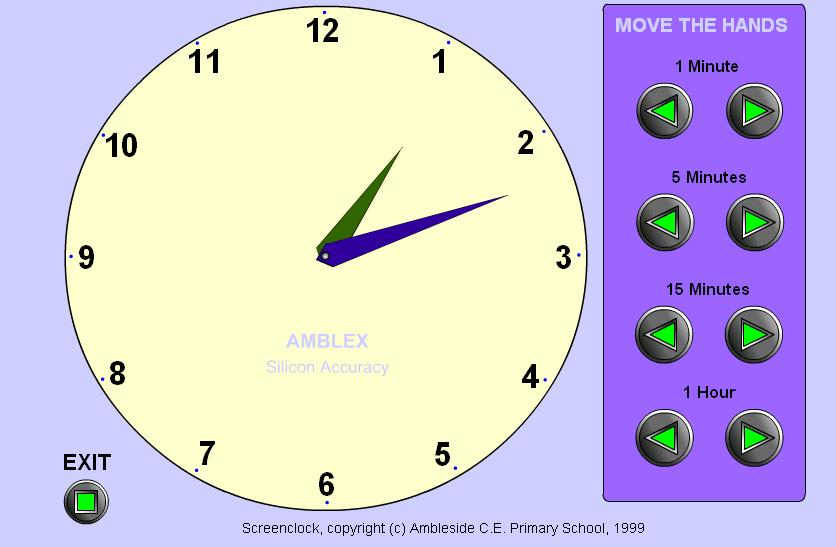 are learning to tell time, they will love this interactive clock ...