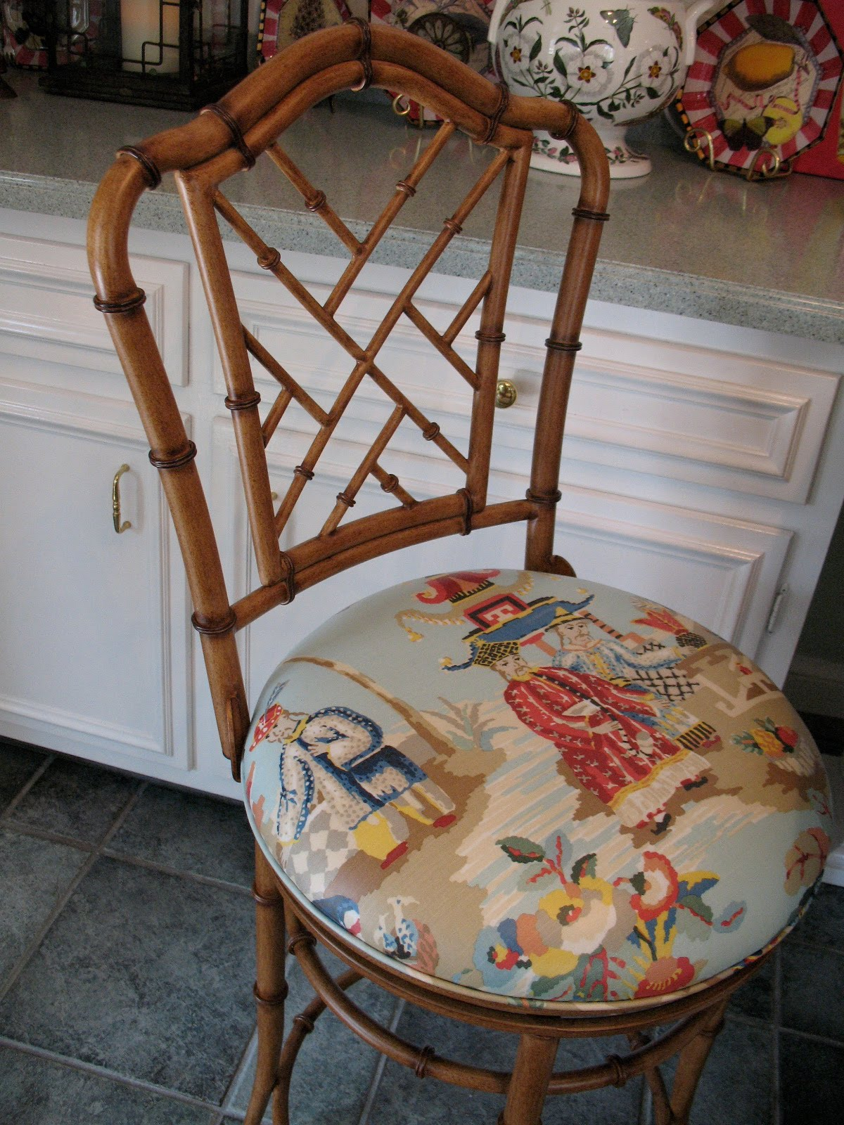 Painting a Chippendale Chair Chinese Chippendale Chair