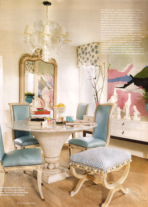 Ruthie Sommers chinoiserie chic: ruthie sommers dining rooms
