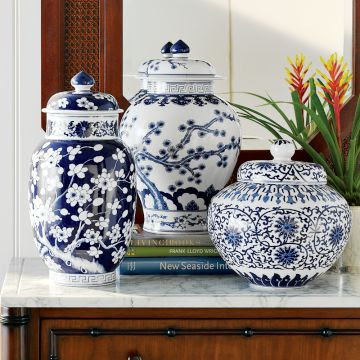 Chinoiserie Chic Williams Sonoma Home Ginger Jars