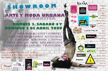 SHOWROOM 3,4 y 5 de Abril