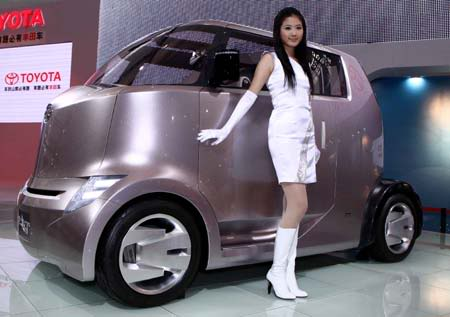 Hot Girls with Cool Cars in Korean Show Grand Opening ~ Famous Cars World