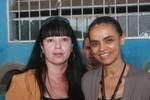 Nilza Martins e Marina Silva