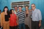 Nilza,Valquiria,Naildo,João,     Marina Silva e Guilherme Leal