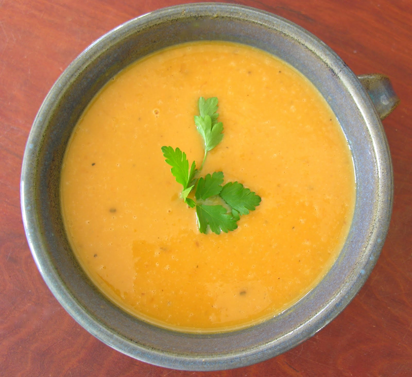 Coconut Sweet Potato Soup - HOMEGROWN
