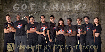 South Garland High School senior pictures photography billards team photo