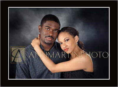 traditonal studio engagement portrait poses examples of couple from Dallas Texas and Plano Texas
